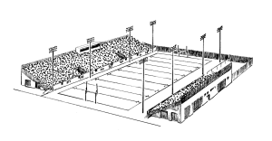 Shaw Stadium 1938