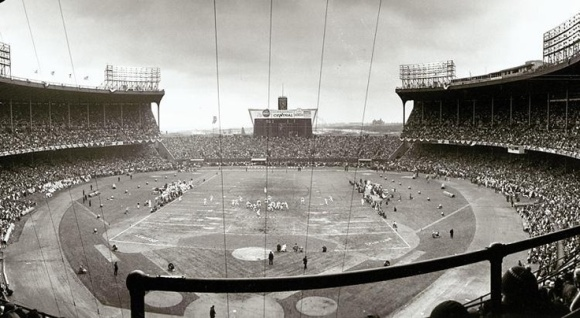Cleveland Municipal Stadium 1964